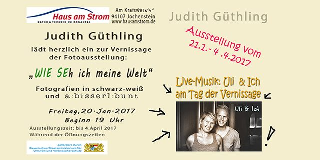Vernissage Haus am Strom 20.1.2017